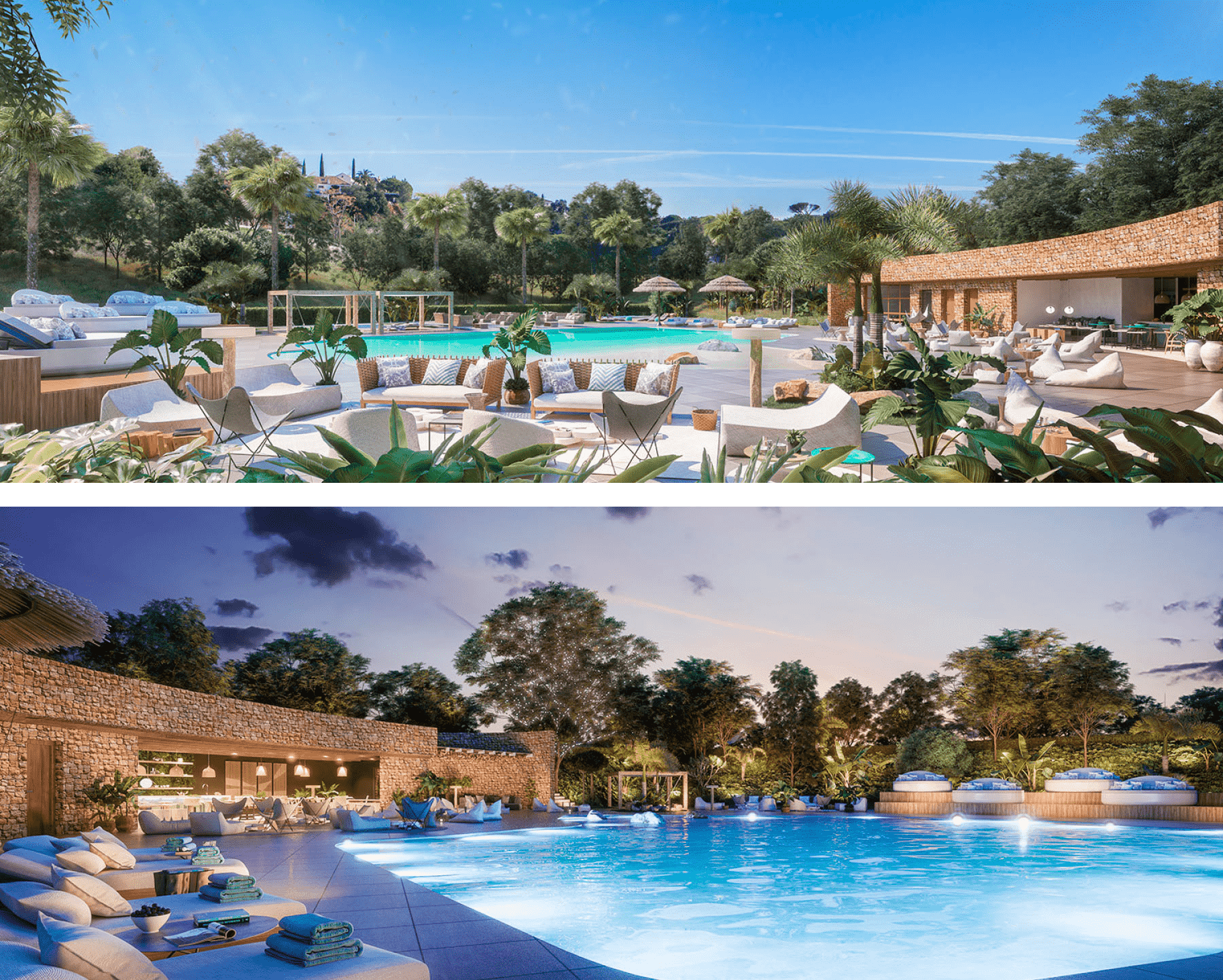 The only hill-top beach club in Marbella